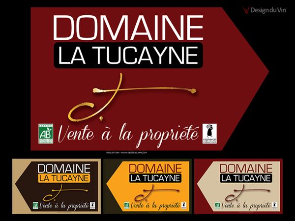Panneaux de Signalisation – Domaine de La Tucayne