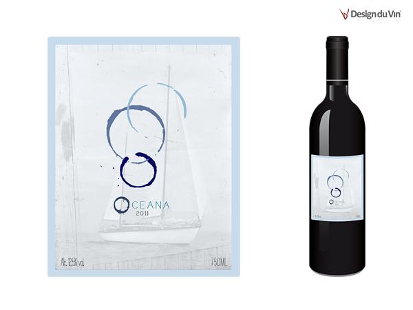 Etiquette de bouteille – Océana
