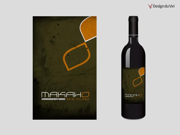 Etiquette de bouteille – Okawa Winery