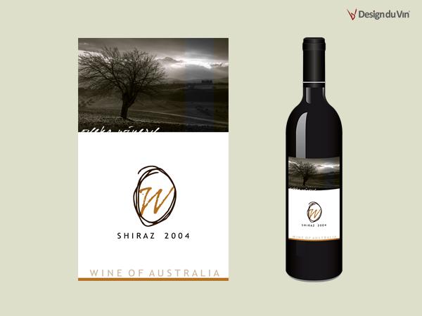 Etiquette de bouteille – Relyne Winery