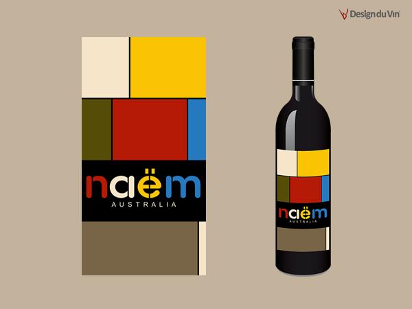 Etiquette de bouteille – Naëm
