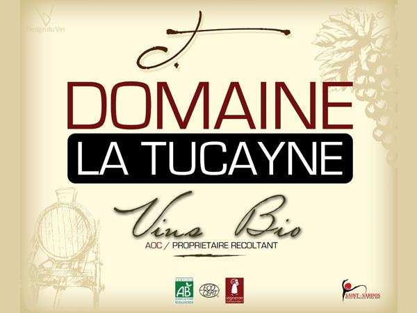 Panneau en dibond – Domaine de La Tucayne