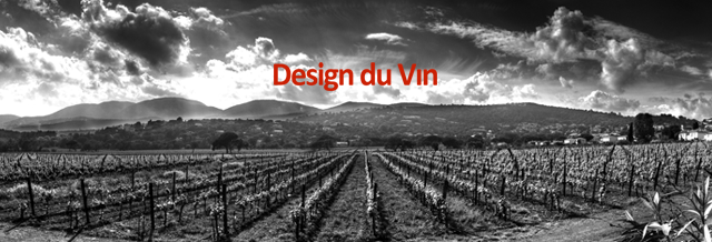 vignes noir blanc logo rouge