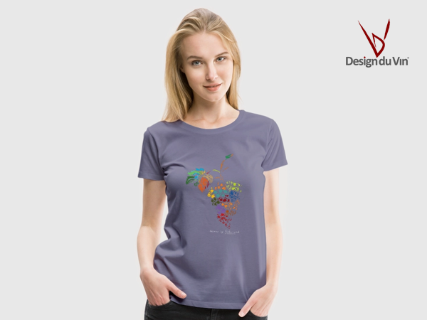 T-shirt vin – Wine is like Art