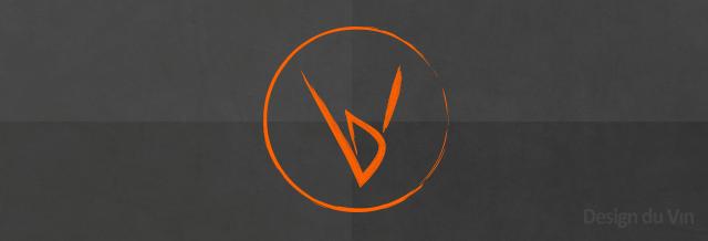 gris orange rond
